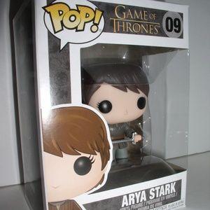 Funko Pop  Game of Thrones  Arya Stark #09
